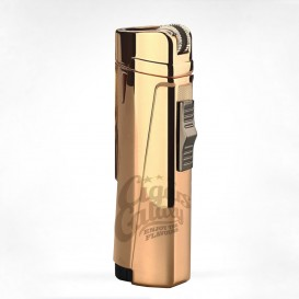 GG - Triple Jet Gold Metal Lighter (027-G)
