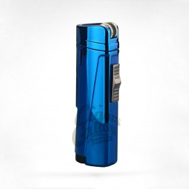 GG - Triple Jet Blue Metal Lighter (027-BLUE)