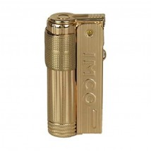 IMCO - Super/Triplex Oil Brass Gold Logo Lighter 1800025