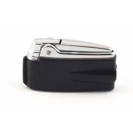 RONSON - Premier Varaflame Black Leather Lighter