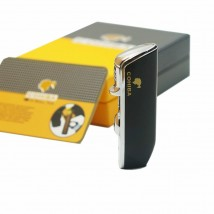 Windproof Lighter Triple Jet for Cigar With Punch