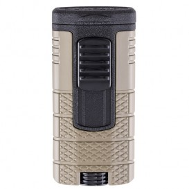 XIKAR - Tactical Triple Tan & Black Lighter (553TNBK)