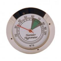 Silver Analog Hygrometer 3cm