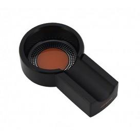 JIFENG -Black Aluminum Single Cigar Ashtray  (JF-026-B)