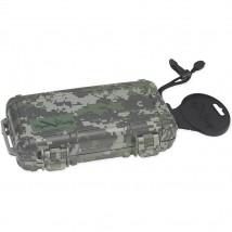 CIGAR CADDY- Travel / Portable Humidor for 5 Cigars Camo (CC05-FC)