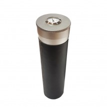 Travel Humidor Cigar Tube Metal Black (5020)