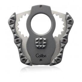 COLIBRI - Quasar Silver Guillotine Cigar Cutter CUT CU100T72