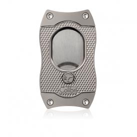 COLIBRI -  Gunmetal Monza S-Cut [Serrated] Cigar Cutter CU560T3