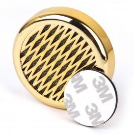 Χρυσό στρογγυλό υγραντικό στοιχείο με σφουγγάρι για 20 Πούρα