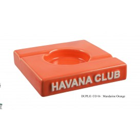 HAVANA CLUB - El Duplo Διπλό Κεραμικό Σταχτοδοχείο Πούρου σε διάφορα Χρώματα