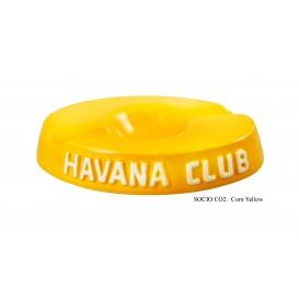 HAVANA CLUB - El Socio Διπλό Κεραμικό Σταχτοδοχείο Πούρου σε διάφορα Χρώματα