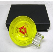 Glass Ashtray for one cigar (P326-3)