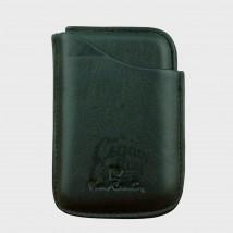 PIERRE CARDIN - Black Leather Case for Mini Cigarillos 41408-100