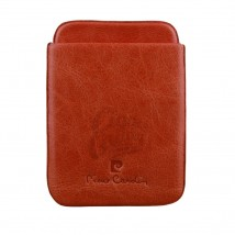 PIERRE CARDIN - Red Leather Case for Cigarillos 41409-300
