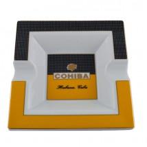 Ceramic Ashtray with Cohiba Logo for 2 Cigars
