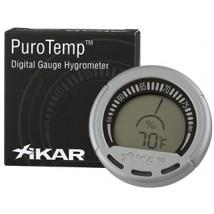 XIKAR - Purotemp Ηλεκτρονικό Υγρόμετρο-Θερμόμετρο (834XI)