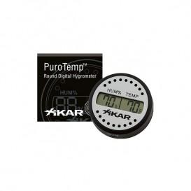 XIKAR - Ηλεκτρονικό Υγρόμετρο-Θερμόμετρο Στρογγυλό (832XI )