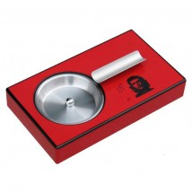 Wooden Red Cigar Ashtray Che (0159)