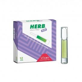 HERB – Micro Filter Slim Cigarette Holder 12 pcs