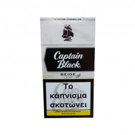 CAPTAIN BLACK - Beige Aromatic Filter 10's