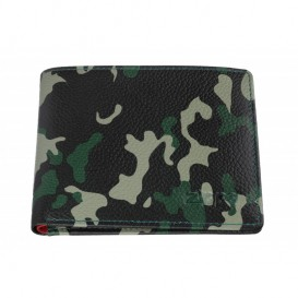 ZIPPO - Leather Bi-Fold Wallet Camo Green (2006026)