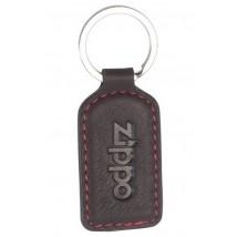 ZIPPO - Δερμάτινο Μπρελόκ Χρώματος Mocha (2005424)