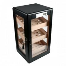 Cabinet Humidor - Μαύρος Υγραντήρας βιτρίνα για 150 Πούρα (423)