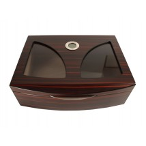 Humidor for 50 Cigars with Digital Hygrometer (29103)