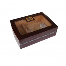 Dark Brown Humidor for 50 - 60 Cigars  (545)
