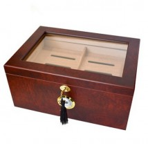 SIKARLAN - Humidor With Glass Window for 100-120 Cigars  (117)