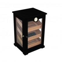 SIKARLAN - Wooden Window Humidor Black (424-B)