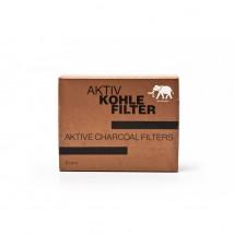 WHITE ELEPHANT - Aktiv Cohle Φίλτρα Πίπας 9mm (40 τεμάχια)