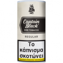 CAPTAIN BLACK - Regular (White) Pipe Tobacco 50gr