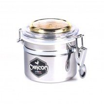 CHACOM - Inox Humidor Jar for Pipe Tobacco 50gr (W000PM)