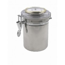 CHACOM -Inox Humidor Jar for Pipe Tobacco (W000)