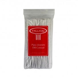FALLION - White Sticks / Soft Pipe Cleaners (100 sticks)