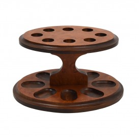SAVINELLI - Wooden Stand for Eight Pipes (1200)