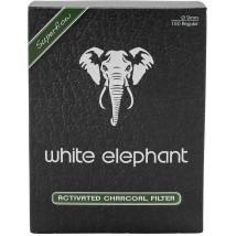 WHITE ELEPHANT - Aktiv Cohle Φίλτρα Πίπας 9mm (150 τεμάχια)