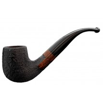MOLINA - Beginner Set Sandblast Bent Tobacco Pipe