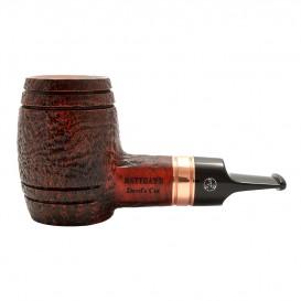 RATTRAYS - Devil's Cut Sandblast Brown Tobacco Pipe