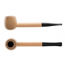 ATOMIC - Hucklebery Wooden Tobacco Pipe