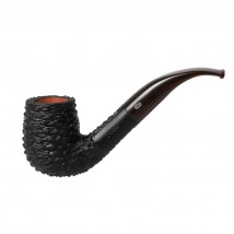CHACOM - Rustic 1202 XL Black Tobacco Pipe