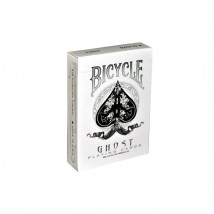 BICYCLE - Ghost White by Ellusionist Τράπουλα