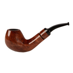 G.MINETO – Freehand 12 Brown Glossy Tobacco Pipe