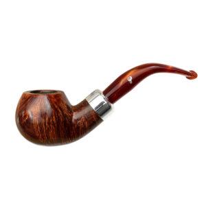 PETERSON – Army 03 Orange Fishtail Tobacco Pipe