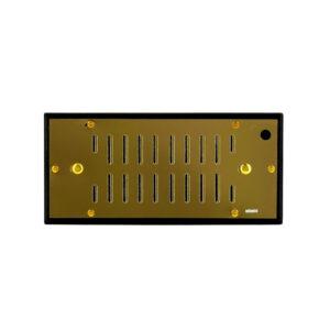 ADORINI – Deluxe Gold Humidifier for 100-150 Cigars