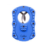 COLIBRI – Quasar Blue Guillotine Cigar Cutter CUT CU100T76