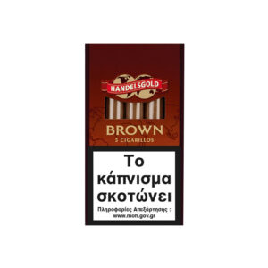 HANDELSGOLD – Cigarillos Brown 5's (Coffee)