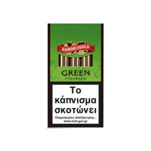 HANDELSGOLD – Cigarillos Green 5's (Apple)