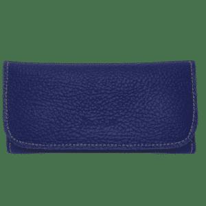 rollit mizouri blue pu leather tobacco pouch